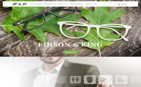 Edison King Onlineshop