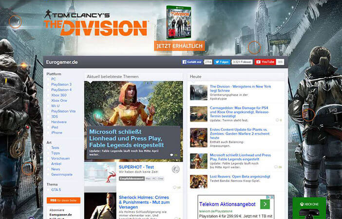 "Discovery Ad für ""The Division"""